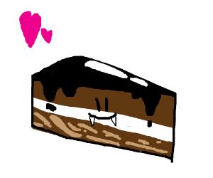 Monster cake loves you