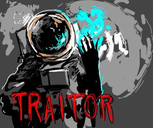 "Astronaut ""Traitor"""