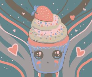 The Kawaii Galactic Love Cupcake