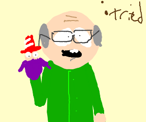 mr garrison from south park