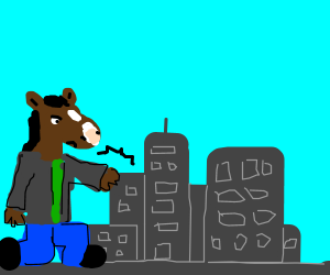 Bojack Horseman Grows Large And Punches City