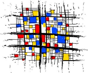 Piet Mondrian Art