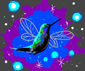 A hummingbird fairy