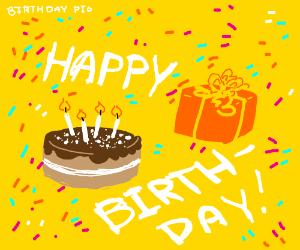 birthday PIO