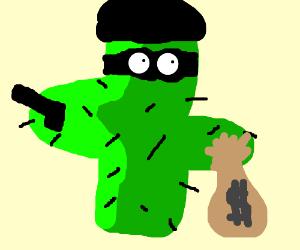 Cactus robber