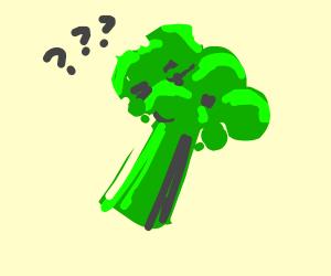 Yummy confused broccoli