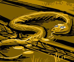 Road Kill Snake