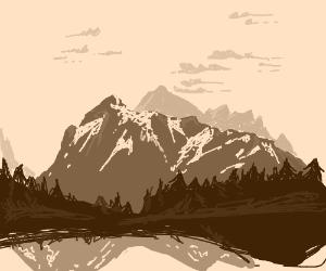 Pretty Mountain Ranges