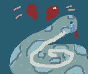 Snake Is Heartbroken