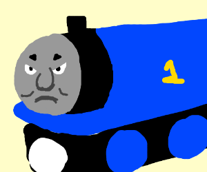 Thomas is angery