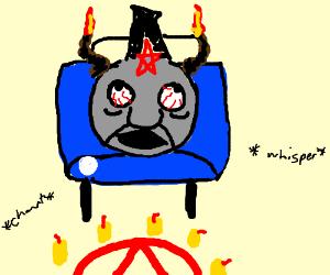 Thomas the train satanic ritual