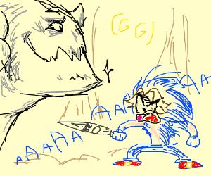 UNAVOIDABLE CHIN MOVE!!! (Game Grumps Joke)