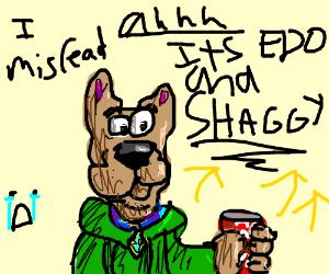 Edd and Shaggy Fusion (Eddworld and ScoobyDoo)