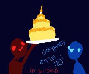 Congrats on level 40!