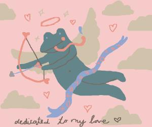 Cupid frog