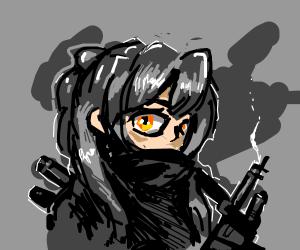 Ponytail Knight Drawception