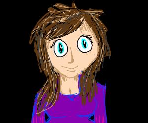 Girl in Purple Uniform