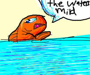 Fish in mild water