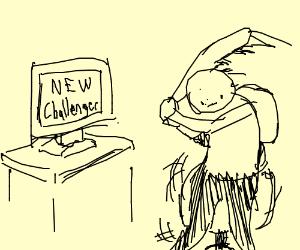 Smash new challenger screen