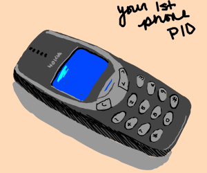 Your 1st phone PIO ( 4 button phone)