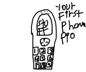 Your first phone, PIO