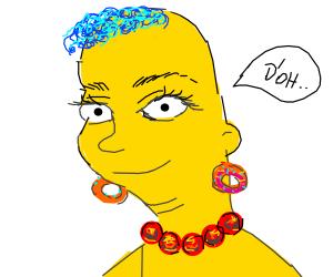 Homarge Simpson
