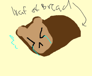 Crying loaf of bread