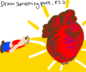 Draw something pure PIO
