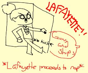 Americas favorite fighting Frenchman LAFAYETTE