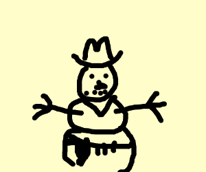 Frosty the cowboy