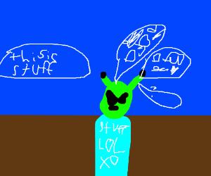 Alien can't play Jeopardy