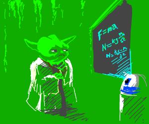 Yoda hates this stuff