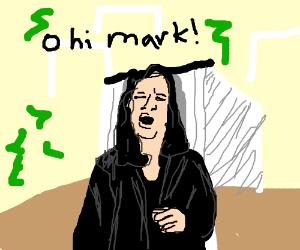 I did naht hit her, I did naaaaaht. O hi Mark!