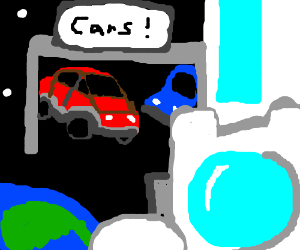 man goes to space to expand his car dealership