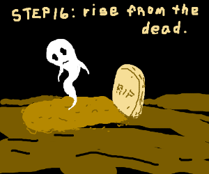 step 15: tragically die, with no one around to save you.