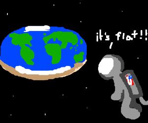 Flat-Earth Astronaut