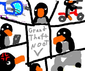 Grand Theft Noot V