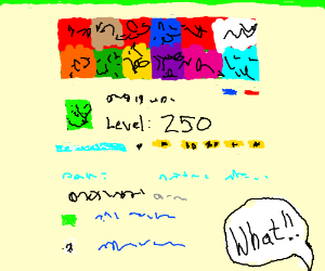 Drawception level 250, an impossible goal