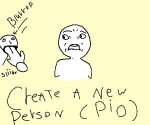 Create A New Person PIO