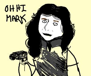 """Tommy Wiseau has a gun """"Oh Hi Mark"""""""
