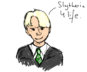 Draco Malfoy Slytherin Drawing By Apocalyptic Mage Doktor