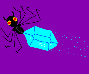 Jewel + Spider thing