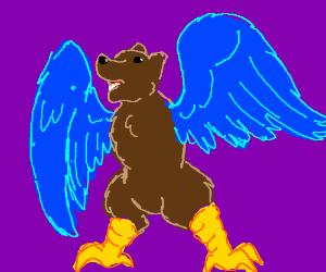 bird/bear hybrid