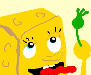SpongeBob talks about Syncarpous Glossolalia