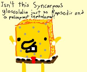 SpongeBob shows vocab skills
