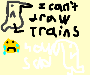 Bird reveals the sad truth it cant draw trains