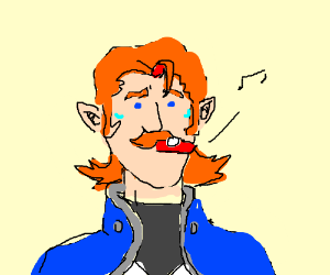 derpy coran from voltron using a kazoo drawing by