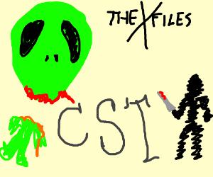 an alien murderer