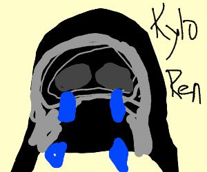 Severely Sad Kylo Ren Face
