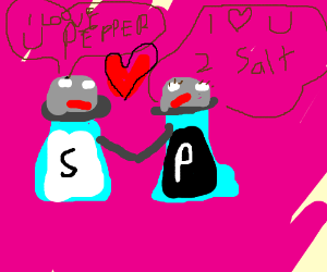 peper and salt love echather